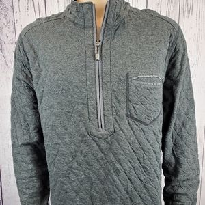 Tommy Bahama Quilted Quarter Zip Pullover XL